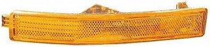 2000-2002 Lincoln LS Front Bumper Marker Light (with Sports Package / Bumper Mounted) - Right (Passenger)