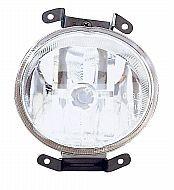 2000-2002 Hyundai Accent Fog Light Lamp (OEM / Hatchback) - Left (Driver)