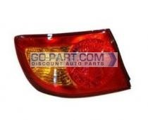 2001-2003 Hyundai Elantra Tail Light Rear Lamp (OEM / Hatchback) - Left (Driver)