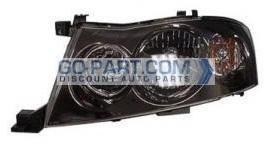 2003-2004 Infiniti M45 Headlight Assembly - Left (Driver)