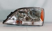 2005-2006 Kia Sorento Headlight Assembly (OEM / without Sport Package) - Left (Driver)