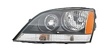 2005-2006 Kia Sorento Headlight Assembly (OEM / with Sport Package) - Left (Driver)