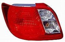 2006-2011 Kia Rio Tail Light Rear Lamp - Left (Driver)