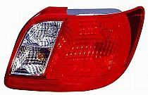 2006-2011 Kia Rio Tail Light Rear Lamp - Right (Passenger)