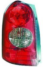 2002-2003 Mazda MPV Tail Light Rear Lamp - Left (Driver)
