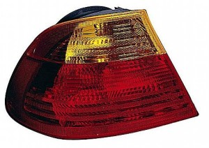 2001-2003 BMW 330i Tail Light Rear Lamp (Coupe / E46 / Outer Carrier Assembly / to 3/03) - Left (Driver)