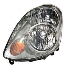 2003-2004 Infiniti G35 Headlight Assembly (With Bulb / Halogen) - Left (Driver)