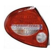 2000-2001 Nissan Maxima Tail Light Rear Lamp (GXE / GLE / with Bulb) - Left (Driver)