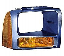 2006-2007 Ford F-Series Super Duty Pickup Parking Light - Right (Passenger)