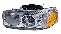 2000-2006 GMC Yukon XL Headlight Assembly (Denali / with Bulb) - Left (Driver)