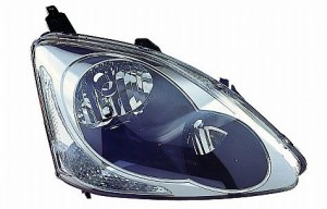 2004-2005 Honda Civic Headlight Assembly (Hatchback / without Bulbs or Sockets) - Right (Passenger)