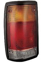1986-1993 Mazda B2500 Tail Light Rear Lamp (Black Lens) - Left (Driver)