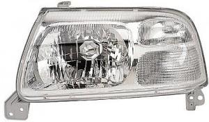 1999-2003 Suzuki Grand Vitara Headlight Assembly (Vitara/Vitara V6 without Bulbs or Sockets / with Bright Bezel) - Left (Driver)
