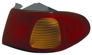 1998-2002 Toyota Corolla Tail Light Rear Lamp (with Bulb) - Right (Passenger)