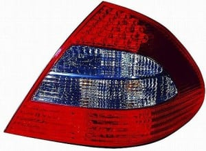 2007-2009 Mercedes Benz E550 Tail Light Rear Lamp (with Appearance package) - Right (Passenger)