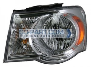 2007-2008 Chrysler Aspen Headlight Assembly - Left (Driver)