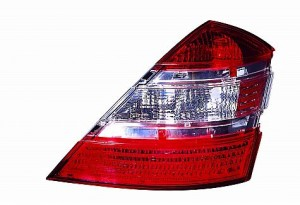 2007-2007 Mercedes Benz S550 Tail Light Rear Lamp - Right (Passenger)