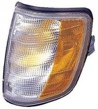 1994-1995 Mercedes Benz E300D Parking / Signal Light (Park/Signal Combination / with Bulb) - Left (Driver)