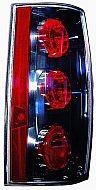 2007-2011 GMC Yukon XL Tail Light Rear Lamp (with Denali) - Left (Driver)