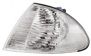 2000-2000 BMW 323i Side Repeater Light (Coupe / White Lens) - Left (Driver)
