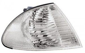 2001-2003 BMW 330i Side Repeater Light (Convertible / E46 / White / to 3/03) - Right (Passenger)