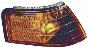1990-1994 Mazda Protege Front Marker Light (Lens/Housing) - Left (Driver)