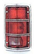 1988-1988 Dodge Dakota Tail Light Rear Lamp (with SE PKG / to 11/27/87 / with Bright Rim) - Right (Passenger)