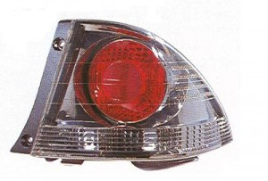 2002-2003 Lexus IS300 Tail Light Rear Lamp (Sedan / Quarter Panel Mounted / Dark Metallic) - Right (Passenger)