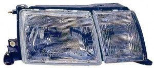 1990-1992 Lexus LS400 Headlight Assembly - Right (Passenger)