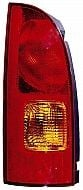 1999-2000 Nissan Quest Van Tail Light Rear Lamp - Left (Driver)