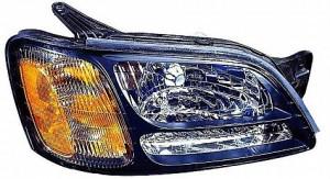 2000-2004 Subaru Outback Headlight Assembly - Right (Passenger)