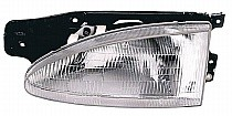 1995-1999 Hyundai Accent Headlight Assembly - Left (Driver)