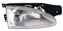 1995-1999 Hyundai Accent Headlight Assembly - Right (Passenger)