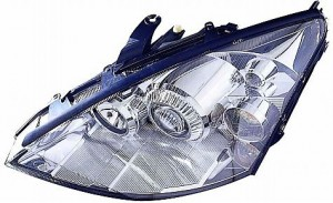2002-2003 Ford Focus Headlight Assembly (HID Lamps) - Left (Driver)