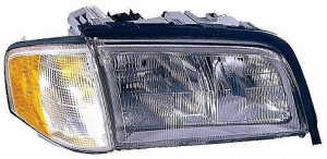 1997-2000 Mercedes Benz C230 Headlight Assembly - Right (Passenger)