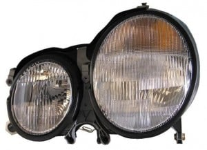 2000-2002 Mercedes Benz E430 Headlight Assembly - Left (Driver)
