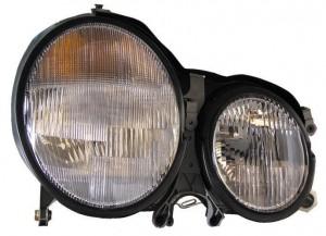 2000-2002 Mercedes Benz E320 Headlight Assembly - Right (Passenger)
