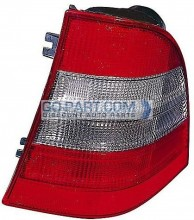 1999-2001 Mercedes Benz ML430 Tail Light Rear Lamp - Right (Passenger)
