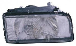 1993-1997 Volvo 850 Headlight Assembly (with Single Bulb Headlamps) - Right (Passenger)