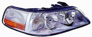 2003-2004 Lincoln Town Car Headlight Assembly (HID) - Right (Passenger)