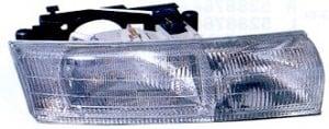 1994-1994 Chrysler New Yorker LHS Headlight Assembly (New Yorker) - Right (Passenger)
