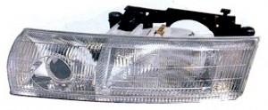 1995-1997 Chrysler New Yorker LHS Headlight Assembly (LHS) - Left (Driver)