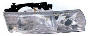 1994-1994 Chrysler New Yorker LHS Headlight Assembly (LHS) - Right (Passenger)