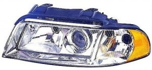 1999-2001 Audi A4 Headlight Assembly (from VIN X200001 / Halogen) - Left (Driver)