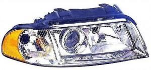 1999-2001 Audi A4 Headlight Assembly (from VIN X200001 / Halogen) - Right (Passenger)