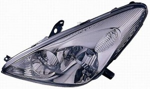 2002-2004 Lexus ES300 Headlight Assembly (HID Lamps / without Bulbs or Sockets) - Left (Driver)