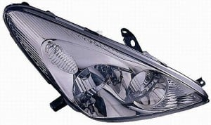 2002-2004 Lexus ES300 Headlight Assembly (HID Lamps / without Bulbs or Sockets) - Right (Passenger)