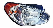 2007-2007 Hyundai Accent Headlight Assembly - Right (Passenger)