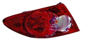 2003-2005 Mazda 6 Mazda6 Tail Light Rear Lamp (Quarter Panel Mounted) - Left (Driver)