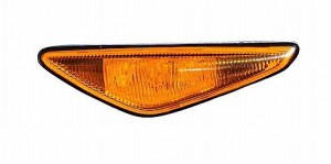 2003-2006 BMW 325i Side Repeater Light (Coupe/Convertible / Amber Lens / From 3-03) - Right (Passenger)
